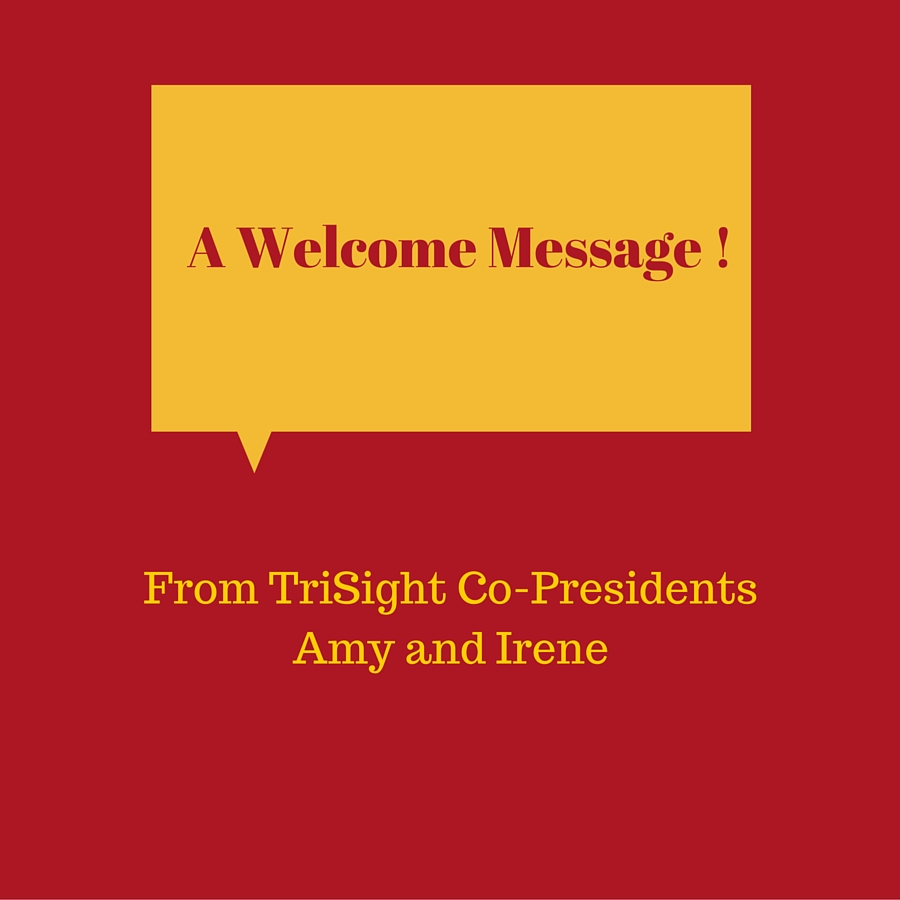 A Welcome Message !