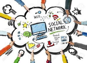 Social Network Social Media People Meeting Teamwork Concept